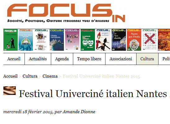 La revue focus
