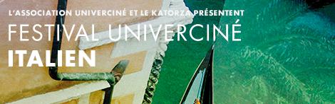festival de cinéma italien Univerciné 2016