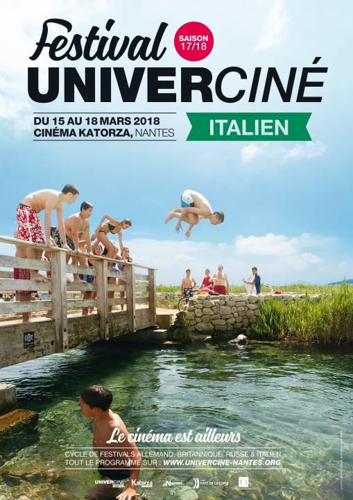 Affiche Univerciné italien 2018