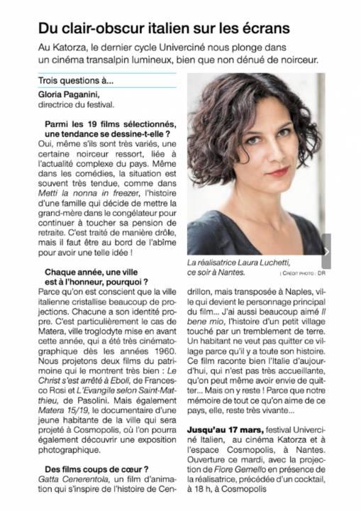 Interview Gloria Paganini